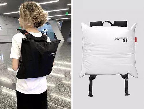 内置充气囊的背包,Backpack Relax,背包,Maya Prokhorova